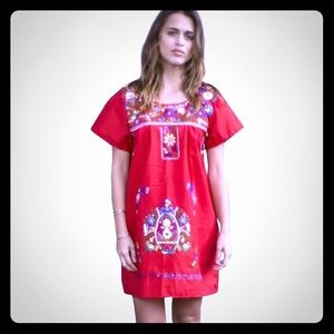 Mexican Festive Camise Dress Size M